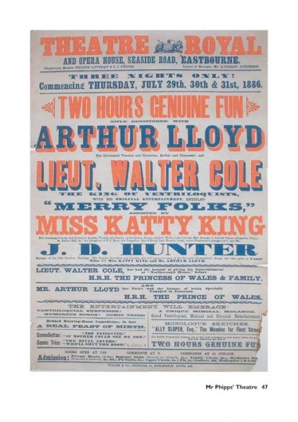 Mr Phipps' Theatre - The Sensational Story of Eastbourne's Royal Hippodrome